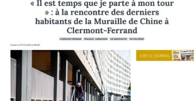 La Montagne – Article du 07/10/2020