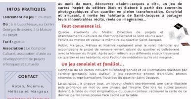Saint-Jacques à dit : Un jeu pour valoriser un quartier en transformation