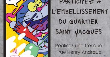 Participez à l'embellissement du quartier saint Jacques
